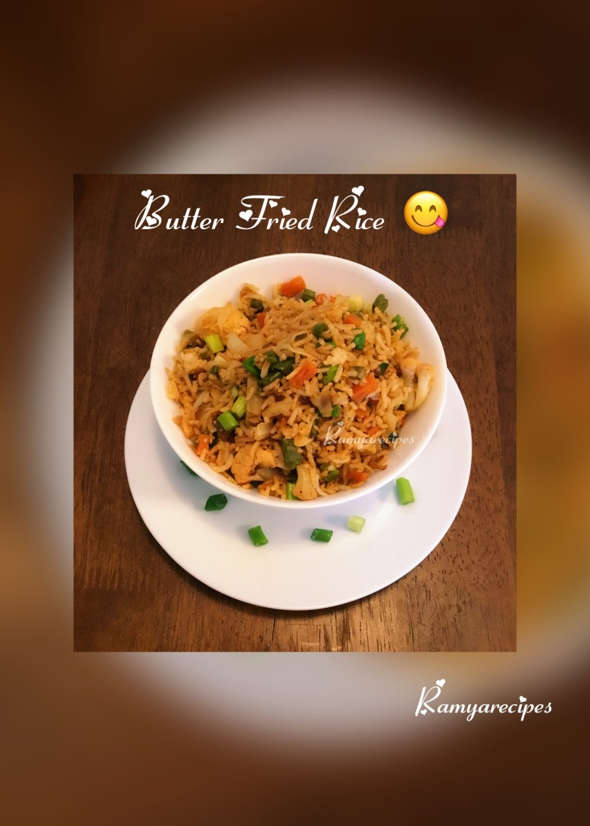Butter Fried Rice 😋 | No Sauce Fried Rice| Healthy Diet| Kids